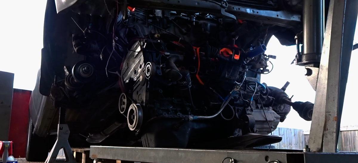 Remove a Car Engine Without a Hoist