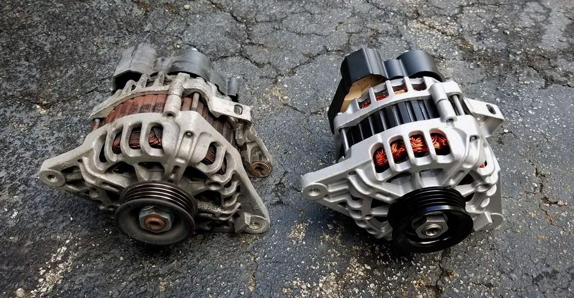 bad alternator destroy a new battery