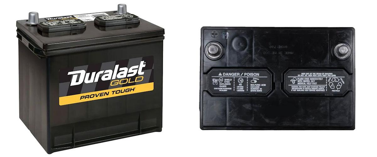 Duralast Gold Battery 35-DLG